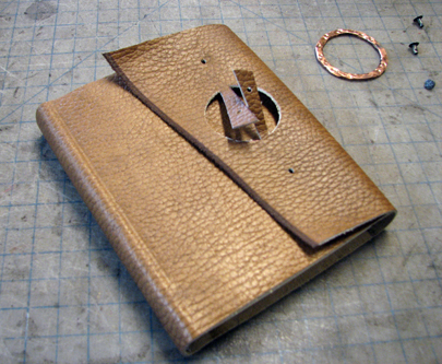 rustic flex cover with metal ring 34 journal softcover leather