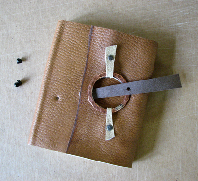rustic flex cover with metal ring 37 journal softcover leather