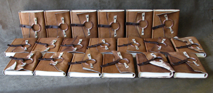 rustic flex cover with metal ring 40 journal softcover leather