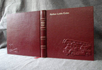 red leather baby fire engine journal whole cover