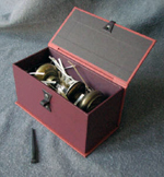 custom doorknob hardware gift box open