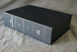 custom gray leather rebinding or ayn rand the fountainhead custom clamshell box flat