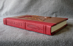 redfeather goatskin leather rebinding spine raised cords