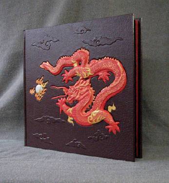 leather custom imperial dragon album