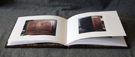 custom leather book about furniture history with ex vote cabinet book open 2