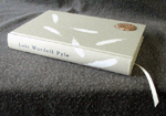 custom cloth eggshell linen quail egg journal spine