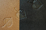 traditional three quarter leather lifetime relationship journal detail