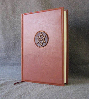 custom leather aquarian star journal supernatural